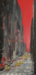 Acrylique sur toile - 40x80cm